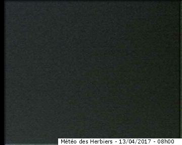Image Webcam à 09h00