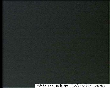 Image Webcam à 21h00